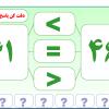 نرم افزار مقایسه اعداد سه و چهار رقمی
