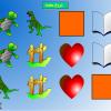 بازی تقویت حافظه دیداری - 2 سطح